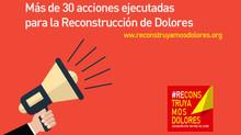 Más de 30 acciones ejecutadas para la Reconstrucción de Dolores