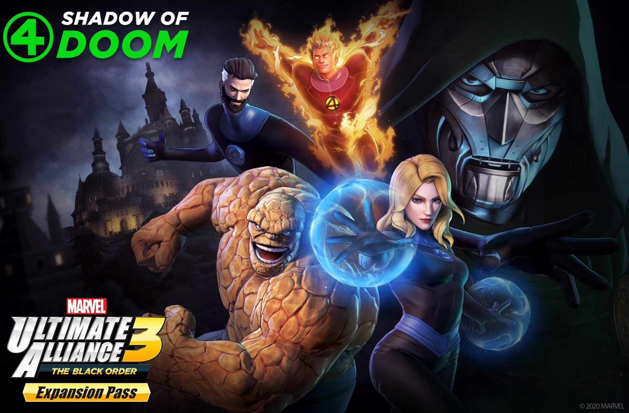 発売元:任天堂株式会社【MARVEL ULTIMATE ALLIANCE 3: The Black Order DLC3「Fantastic Four: Shadow of Doom」】