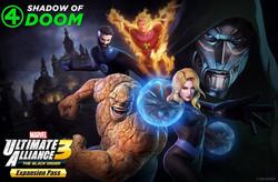 【MARVEL ULTIMATE ALLIANCE 3: The Black Order DLC3「Fantastic Four: Shadow of Doom」】