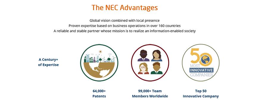 NEC Advantages