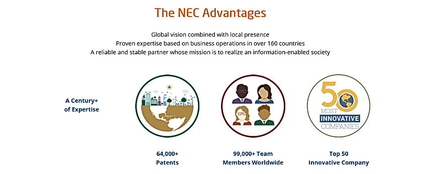 NEC Advantages
