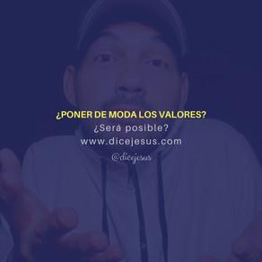 VALORES DE MODA