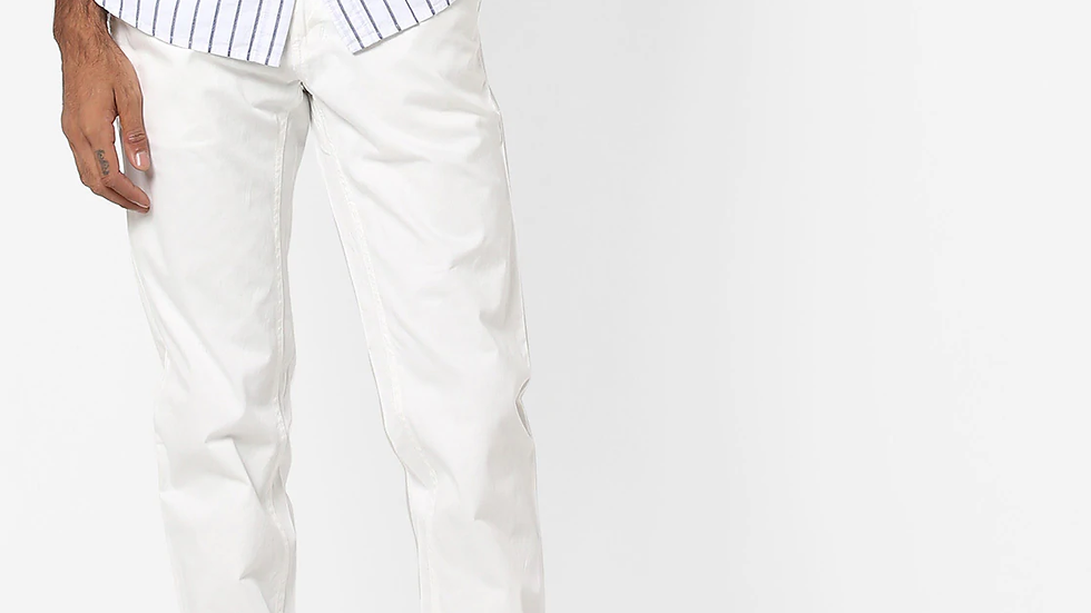 Men Flat-Front Slim Fit Joggers