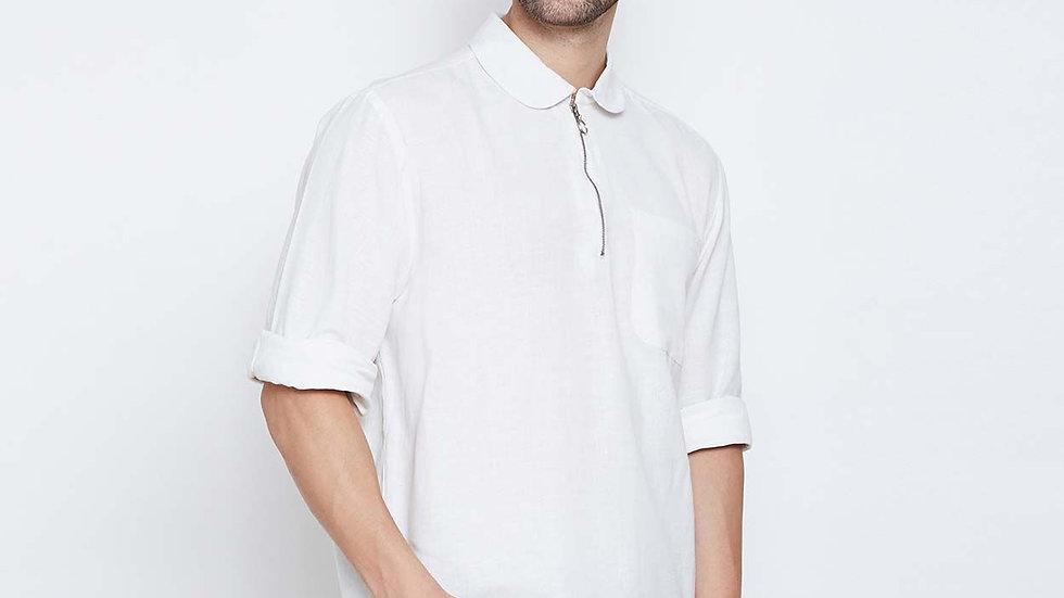 Classic Audemar Zipper Style Men Shirt