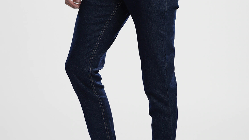 Mid-Rise Slim Jeans with Applique
