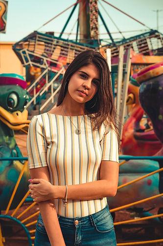 women-s-white-and-black-striped-dress-sh