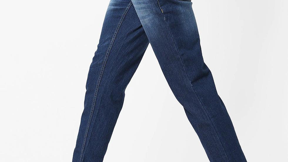 Men Mid-Rise Stretchable Slim Fit 5-Pocket Jeans