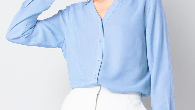 CLASSICS Blue Button Down Shirt
