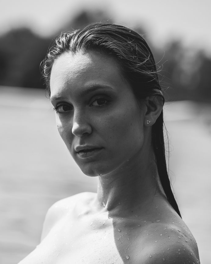 Seyme Boudoir portrait homeshooting sensual