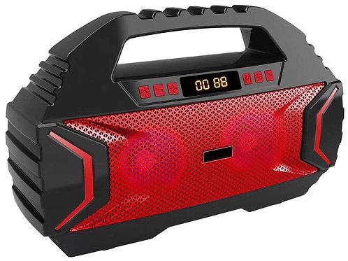 Wireless Bluetooth Speakers Karaoke mic and 1800mAh Battery Power, 16W Speaker