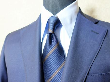 ストライプ柄のネクタイは気をつけて!【選び方】【中級者向け】