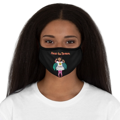 Zana the Brave Fitted Face Mask