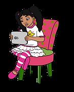 Zana from Zana the Brave reading the Brave Page Blog