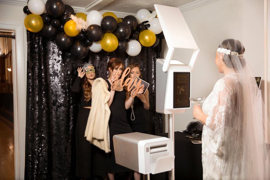 Grand Opening Photoshoot - Photobooth in Lobby