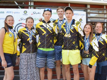 Rattaorienteerumise Balti ja Eesti meistrivõistlustlet saime kokku 28 medalit.