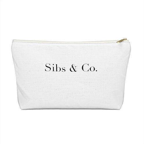 Signature Accessory Pouch w T-bottom