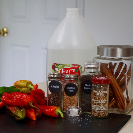 Easy Refrigerator Jalapeño Pickled Peppers