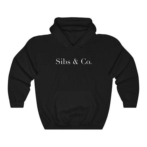 """Sibs & Co. """"Signature"""" Hoodie (Black)"""