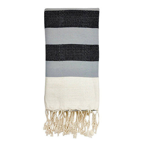 Plush Stripe Turkish Towel