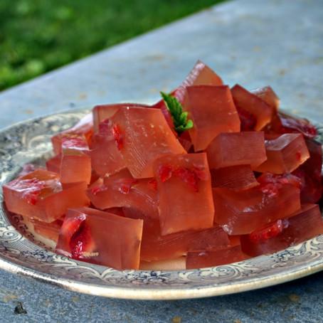 Strawberry Lemonade Jello