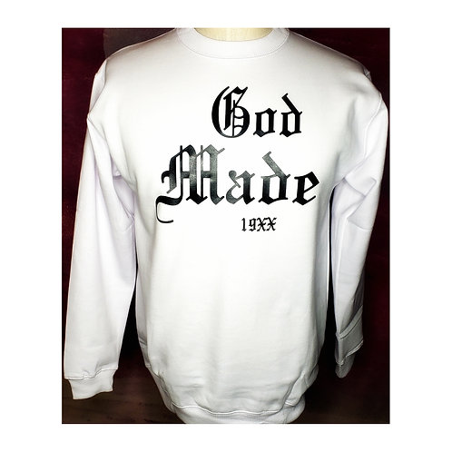 God Made 19XX Sweater (white)