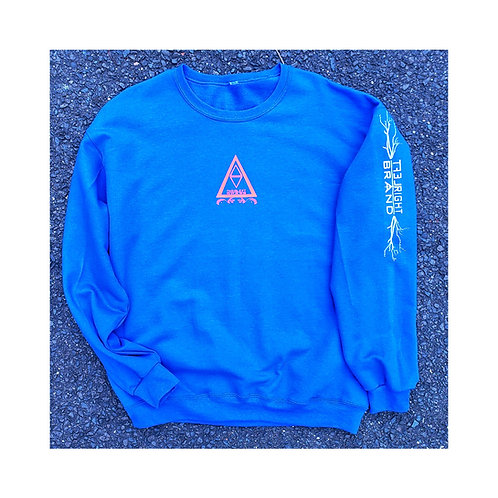 LRB4EVA Royal Blue Crewneck Sweater