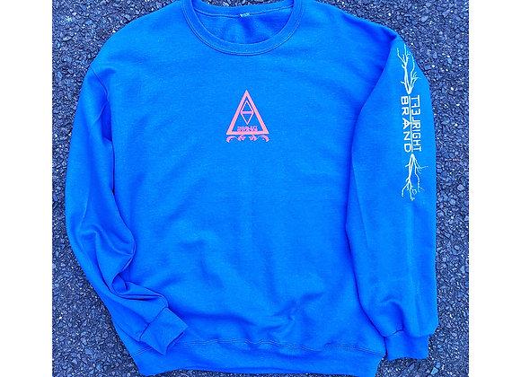 LRB4EVA Royal Blue Crewneck Sweater