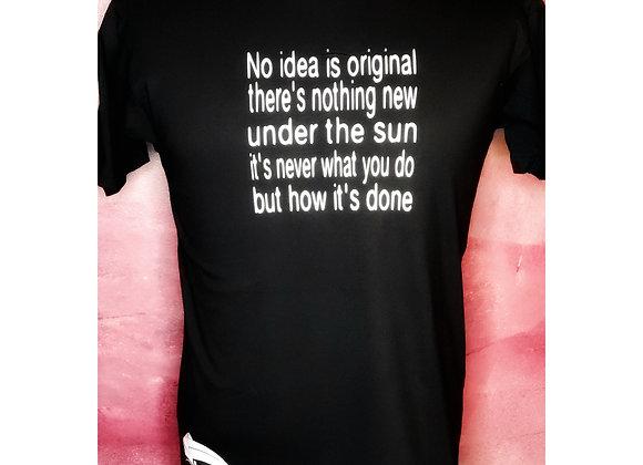 No Idea Is Original