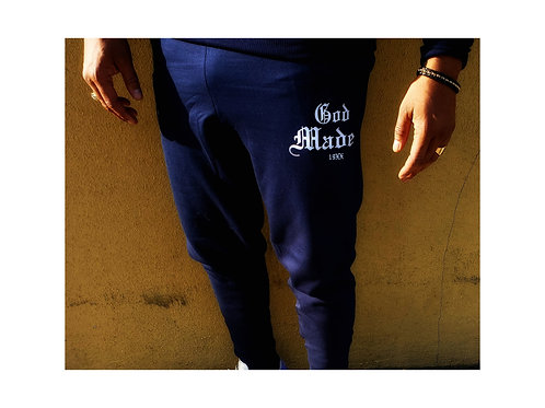 God Made 19XX Sweats (Navy Blue)