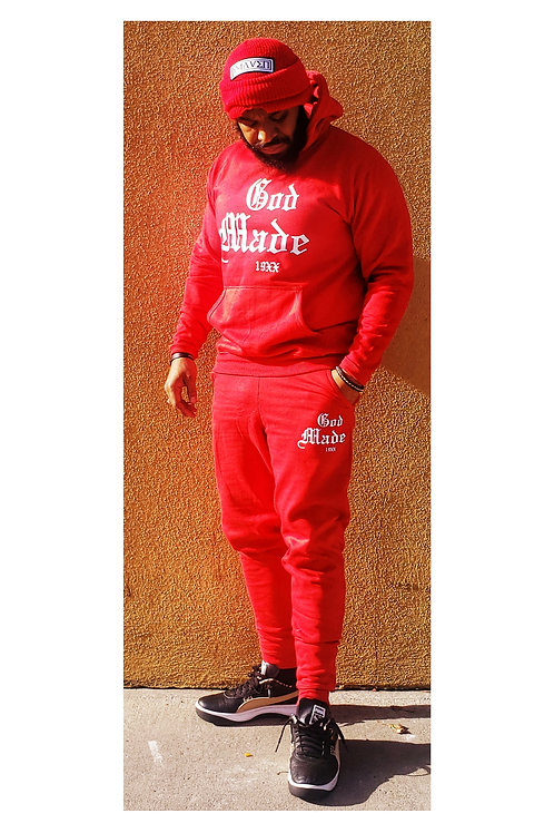 God Made 19XX Full Suit (Red)