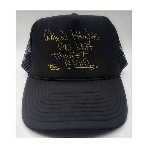Left Right Trucker Hat