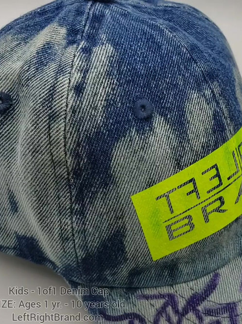 Kids 1 of 1 Denim Cap