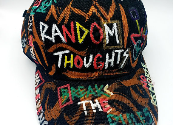 Random Thoughts 1 of 1 Hat