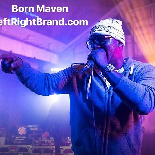 Born Maven Hand Painted Beanie