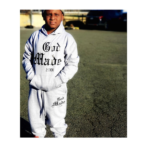 """God Made 20XX Youth SweatSuit """"Top and Bottom"""""""
