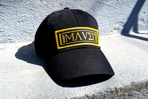 Black and Gold Dad Hat