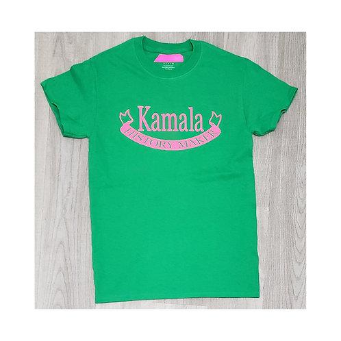 Kamala Pink and Green History Maker Shirt