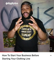 How To Start Your Business Before Starting Your Clothing Line. Before you start your clothing brand