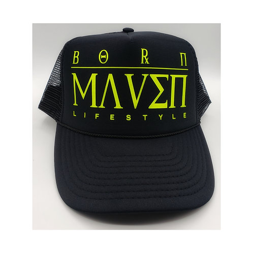 Born Maven Lifestyle Trucker Hat