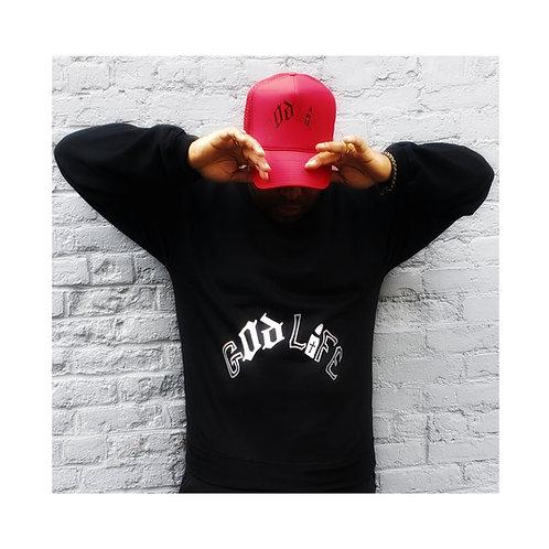 God Life Crew Sweater