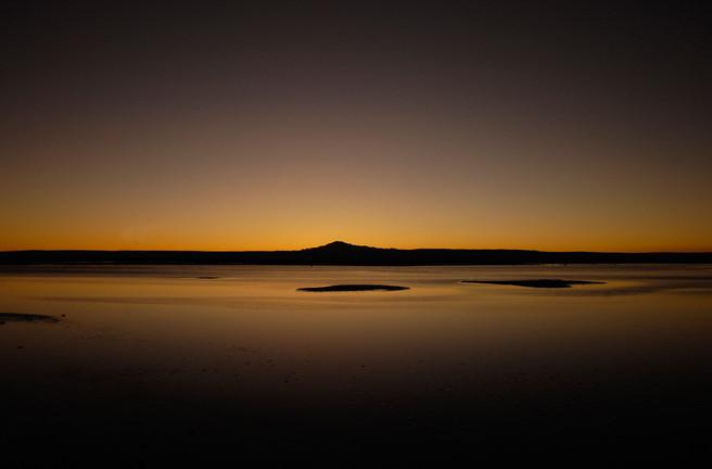 Laguna en San Pedro de Atacama