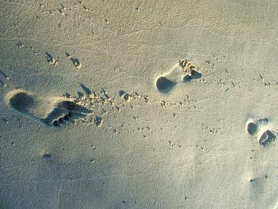 Pasos en la arena