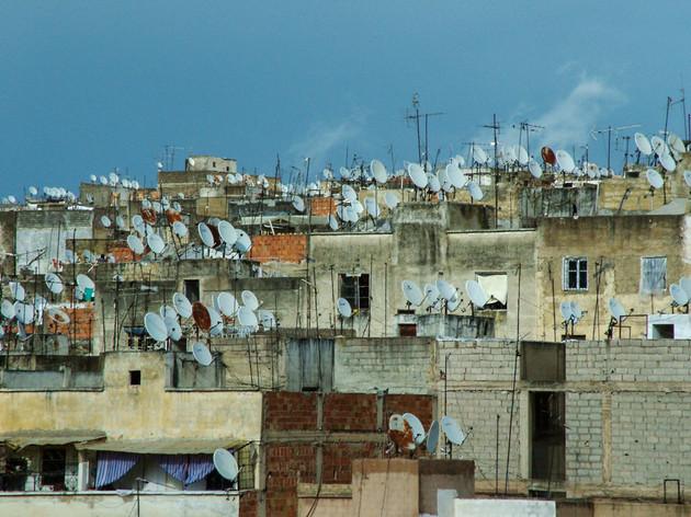 Antenas en Fez