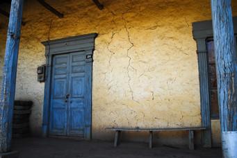 Lolol puertas que aguantaron e terremoto del 2010
