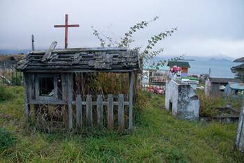 Cementerio, Puerto Guadal, Chile