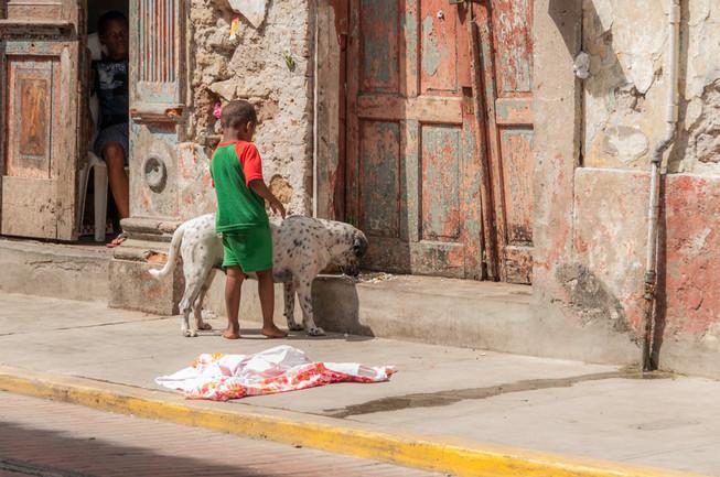 Niños en Ciudad de Panama