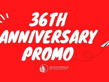 36th Anniversary Promo