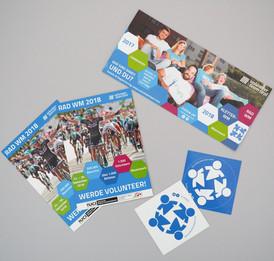 Flyer, Sticker & Co.