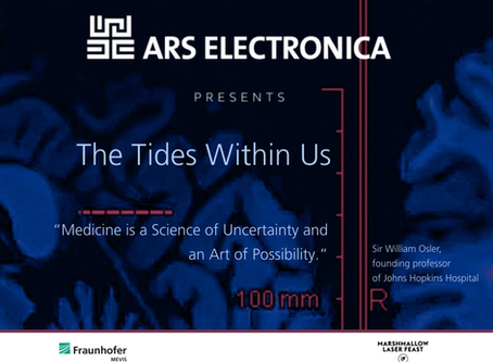 THE TIDES WITHIN US @ArsElectronica