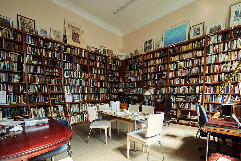 Artiscience Library Reading Room